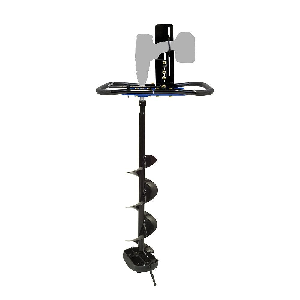 clam ice auger conversion kit plus 6 inch clam lazer drill 9974 clancy outdoors. Black Bedroom Furniture Sets. Home Design Ideas