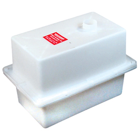 Vented battery box clancy outdoors for Ice fishing battery box