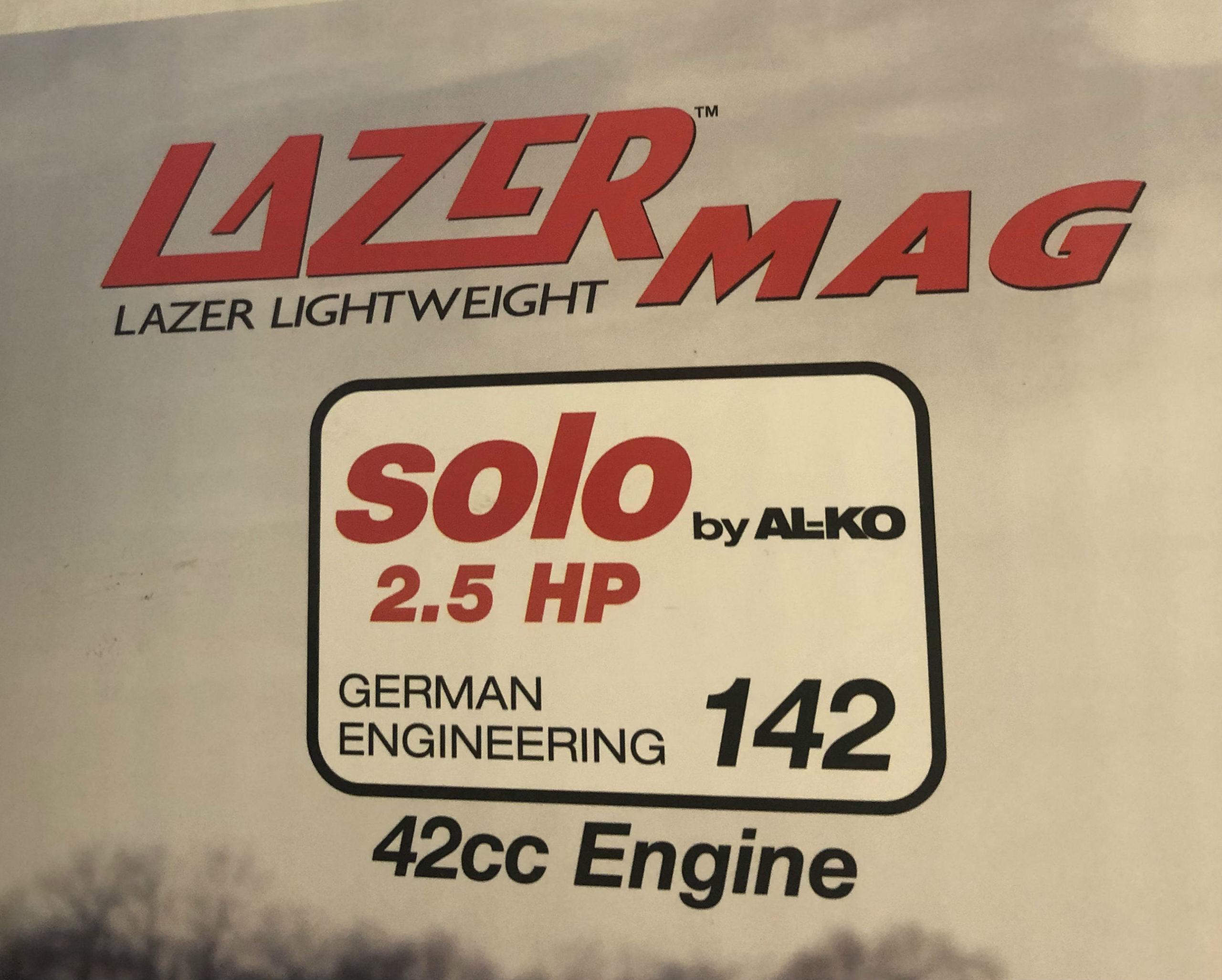 """Serrated Stainless Steel Blades 8/"""" Strikemaster Replacement Lazer Mag Blades"""